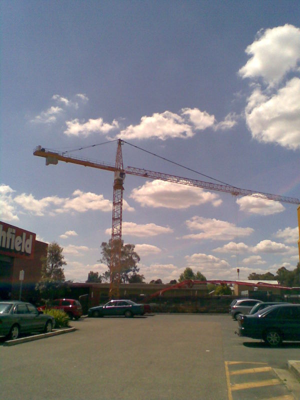 New Crane In Town