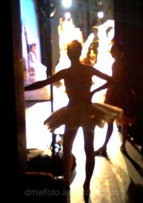 Backstage Ballerina