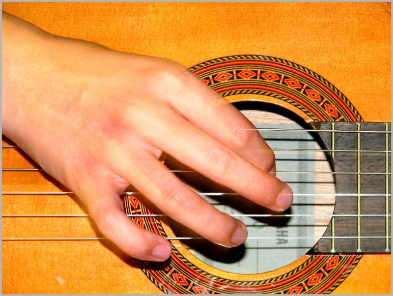 ... while my guitar gently weeps!