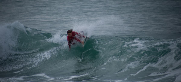 carving a wave