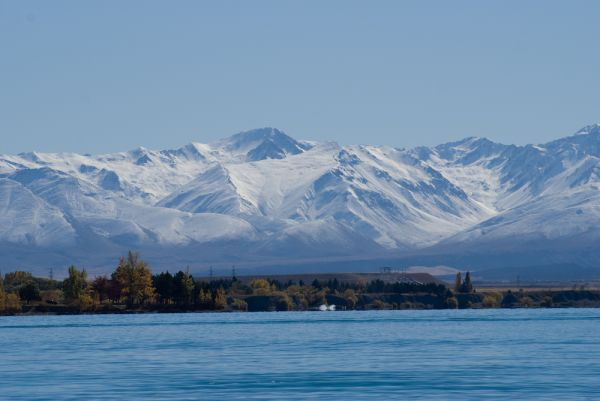Twizel winter is just a stone skip away
