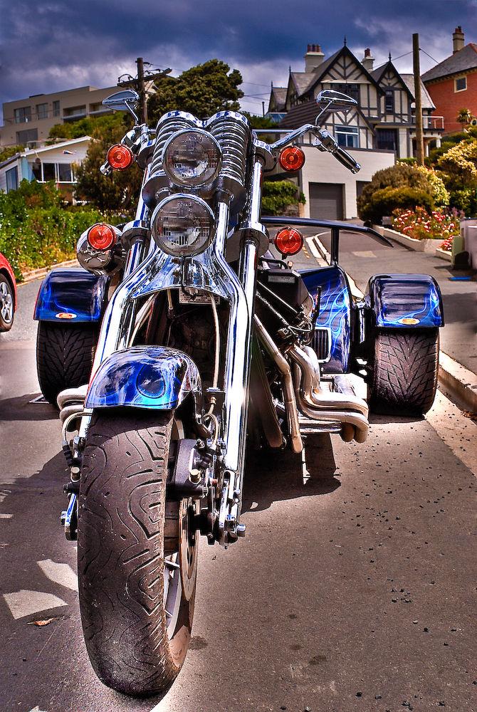 Cool V8 trike 2