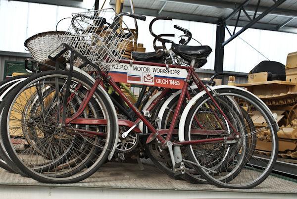 Post office bike