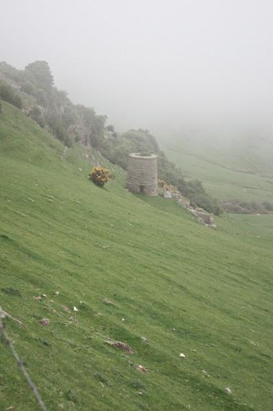Old line stone kiln
