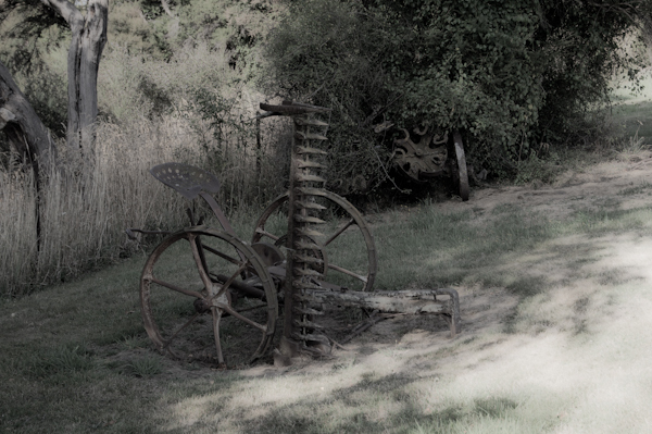 Old hay cutter