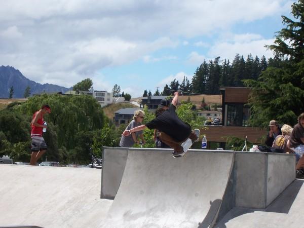 Wanaka skate park