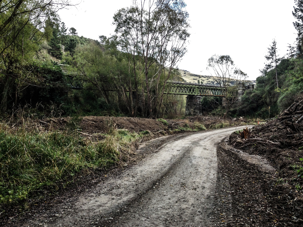 Rail bridge Mt Allan