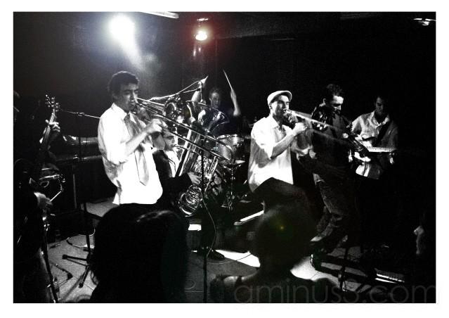 Brass-ass concert