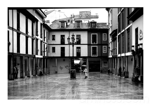 Una placita de Oviedo