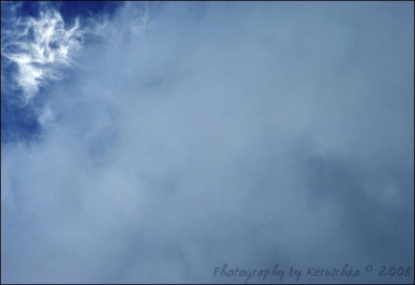 Un visage dans les nuages, a face in clouds
