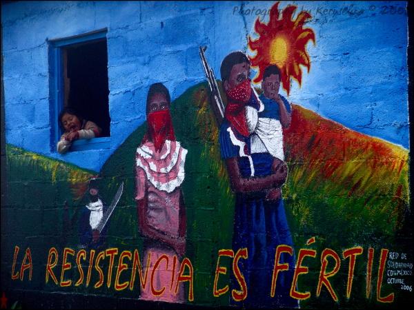La resistencia es fértil, Caracol de Oventik 2006
