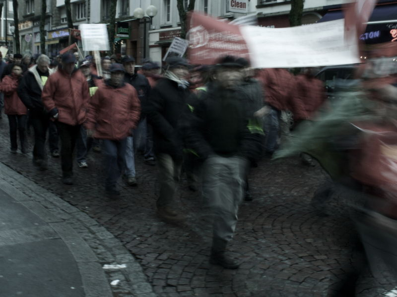 photo greve manif jeudi 29 janvier lorient