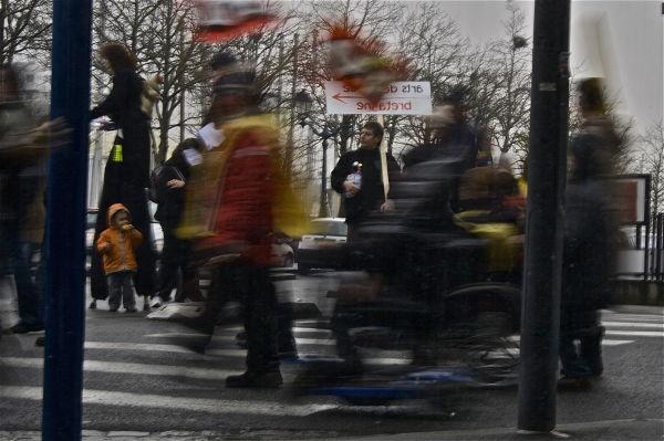 revolution manif reflet greve generale