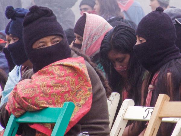 Poder para las mujeres, Zapatistes, Anonymous