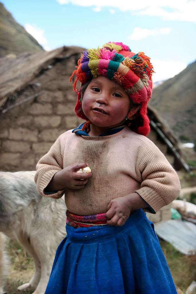 the children of the Sacred Valley