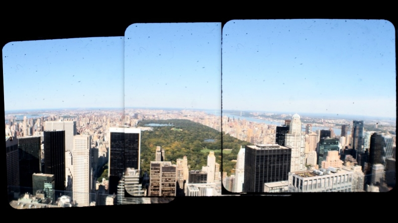 TtV panorama of Central Park from Rockefeller Cent