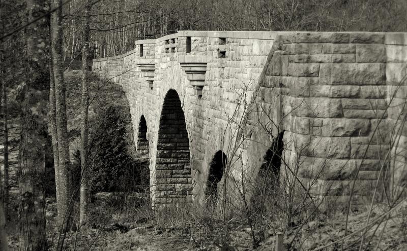 Duck Brook Bridge, Acadia National Park