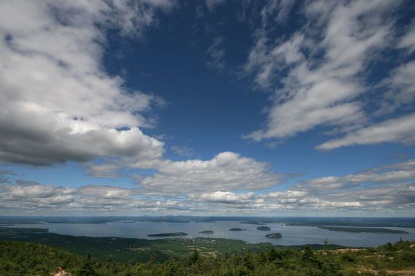 Frenchman's Bay and the Porcupine Islands
