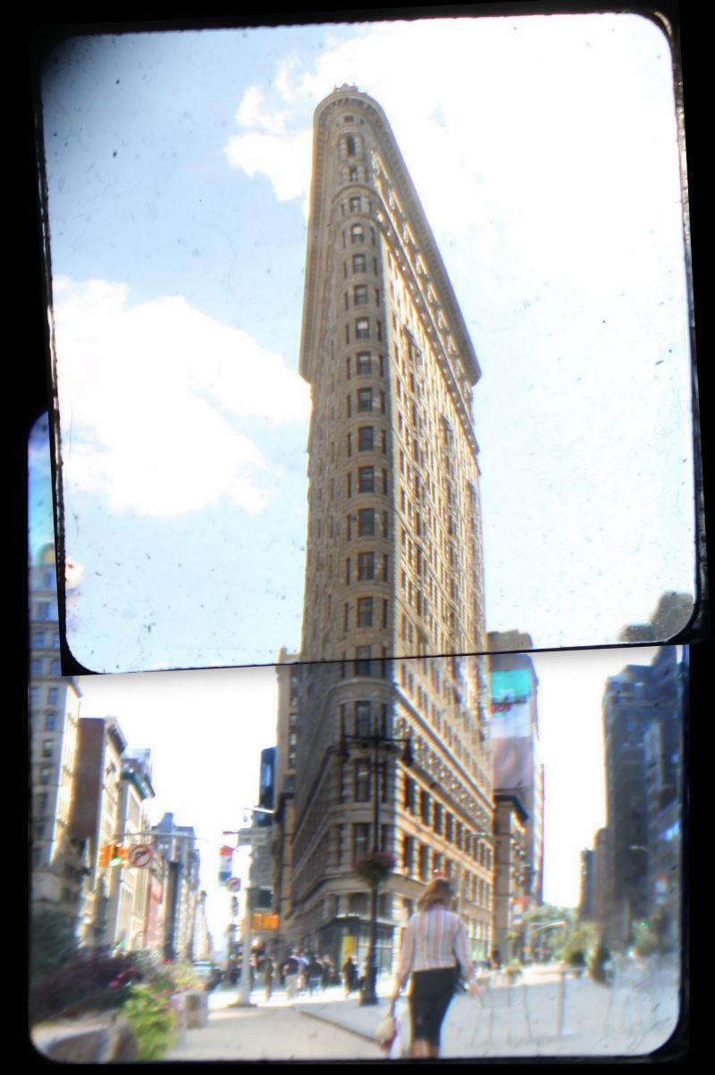 Flatiron Building, TtV Collage