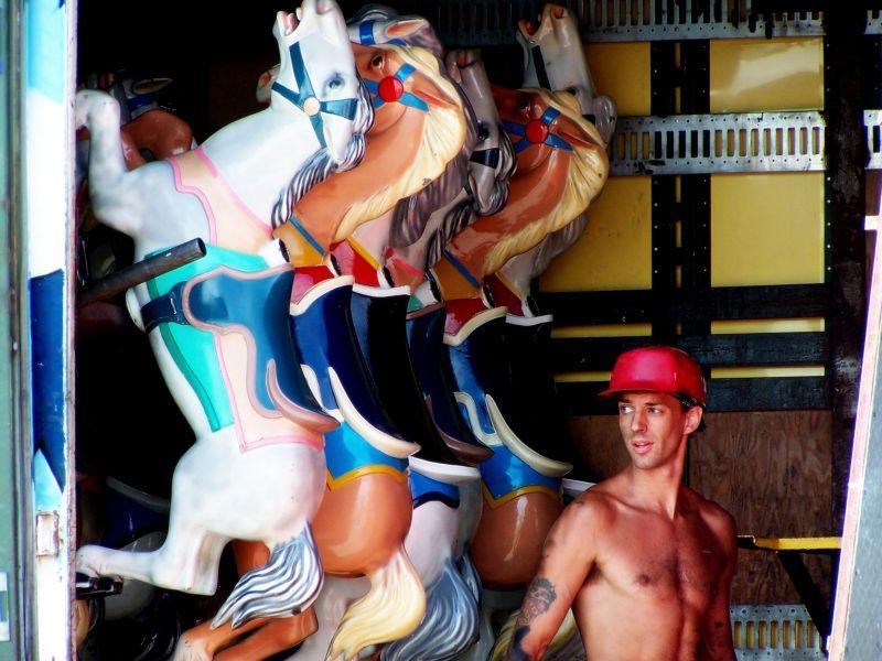 The Carousel Ponies and Joe