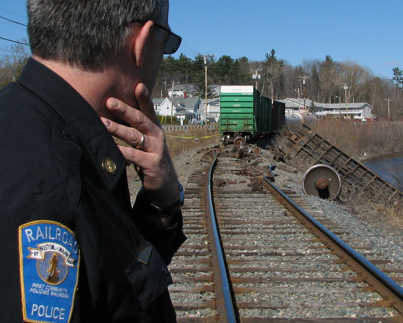 People at Work®: The Railroad Police