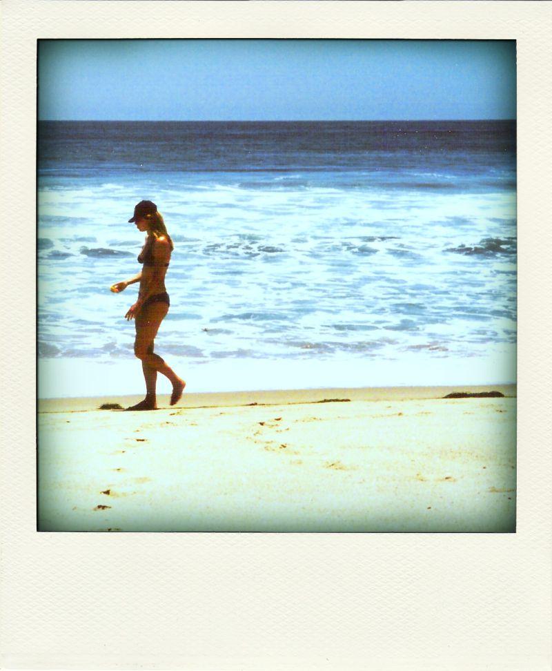 Poladroid: Girl in Malibu