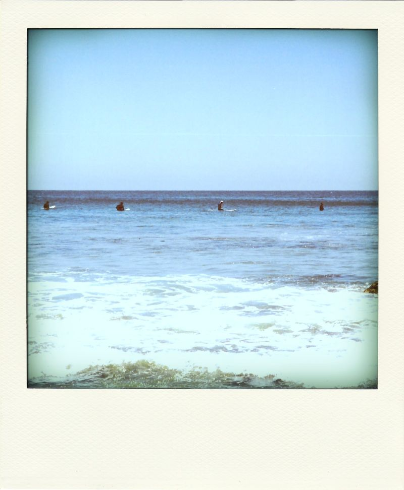 Poladroid: Waiting on a Wave