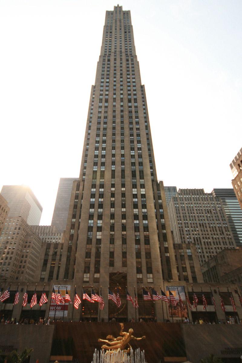 Rockefeller Center At 10mm The Ge Building
