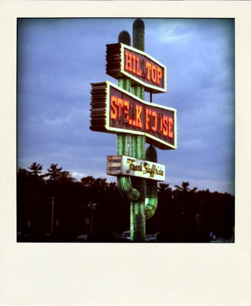Poladroid: Hilltop Steak House