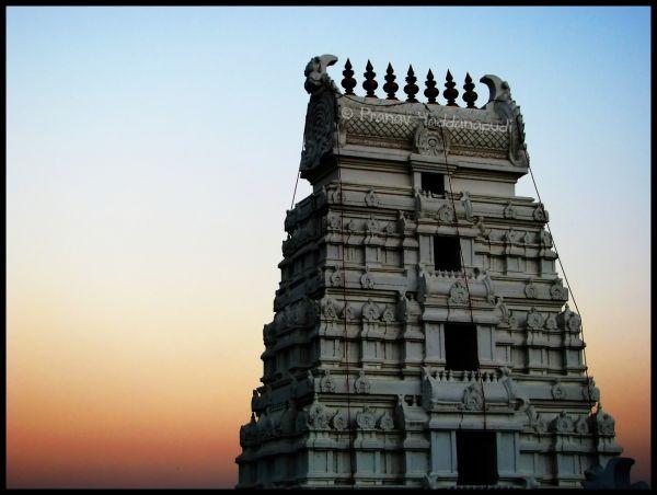Hindu Temple Gopuram
