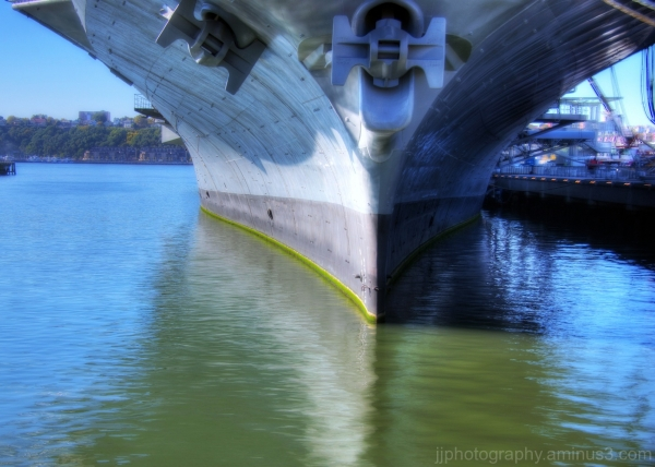 Underneath Intrepid