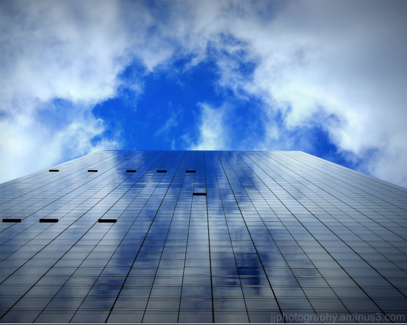 Looking up Trump world Tower