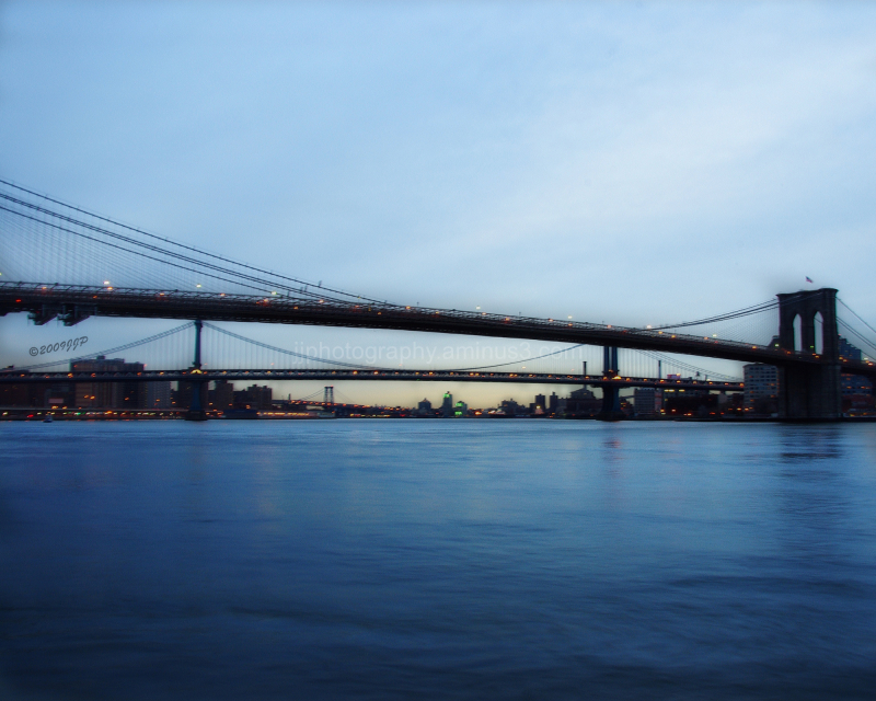 the bridges from Pier 17