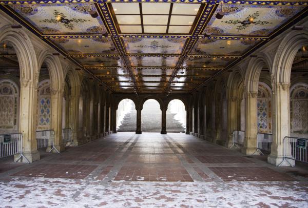 Under Bethesda Terrace