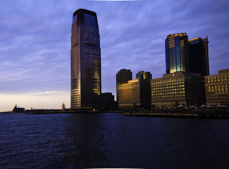 Morning colors of exchange place