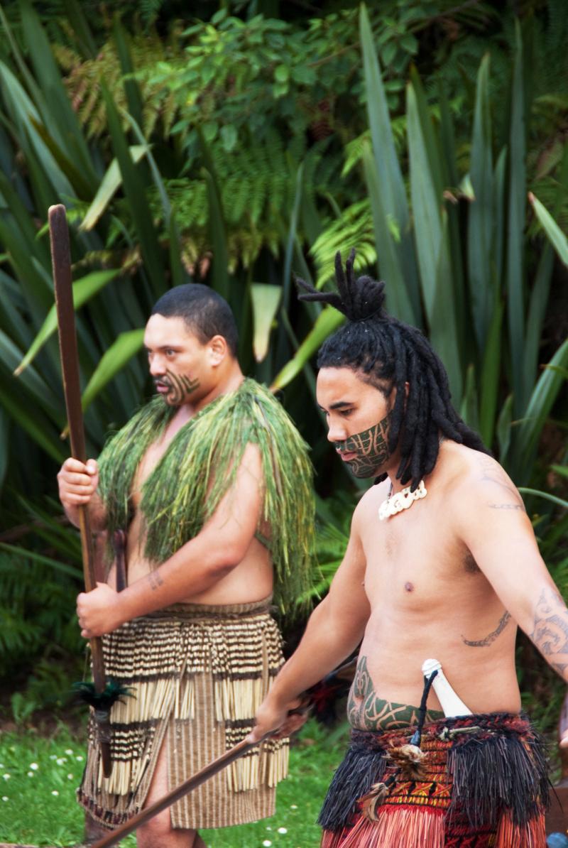 A Maori Welcome