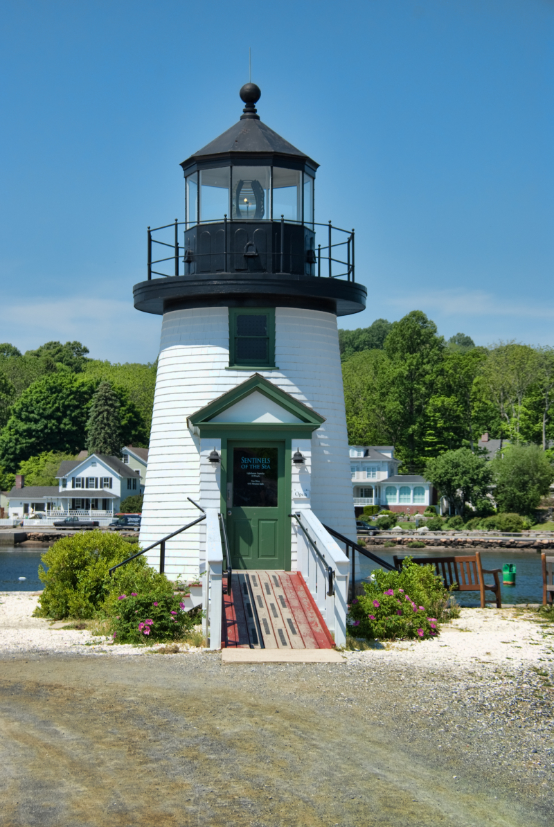 the Lighthouse at Mystic Seaport Museum