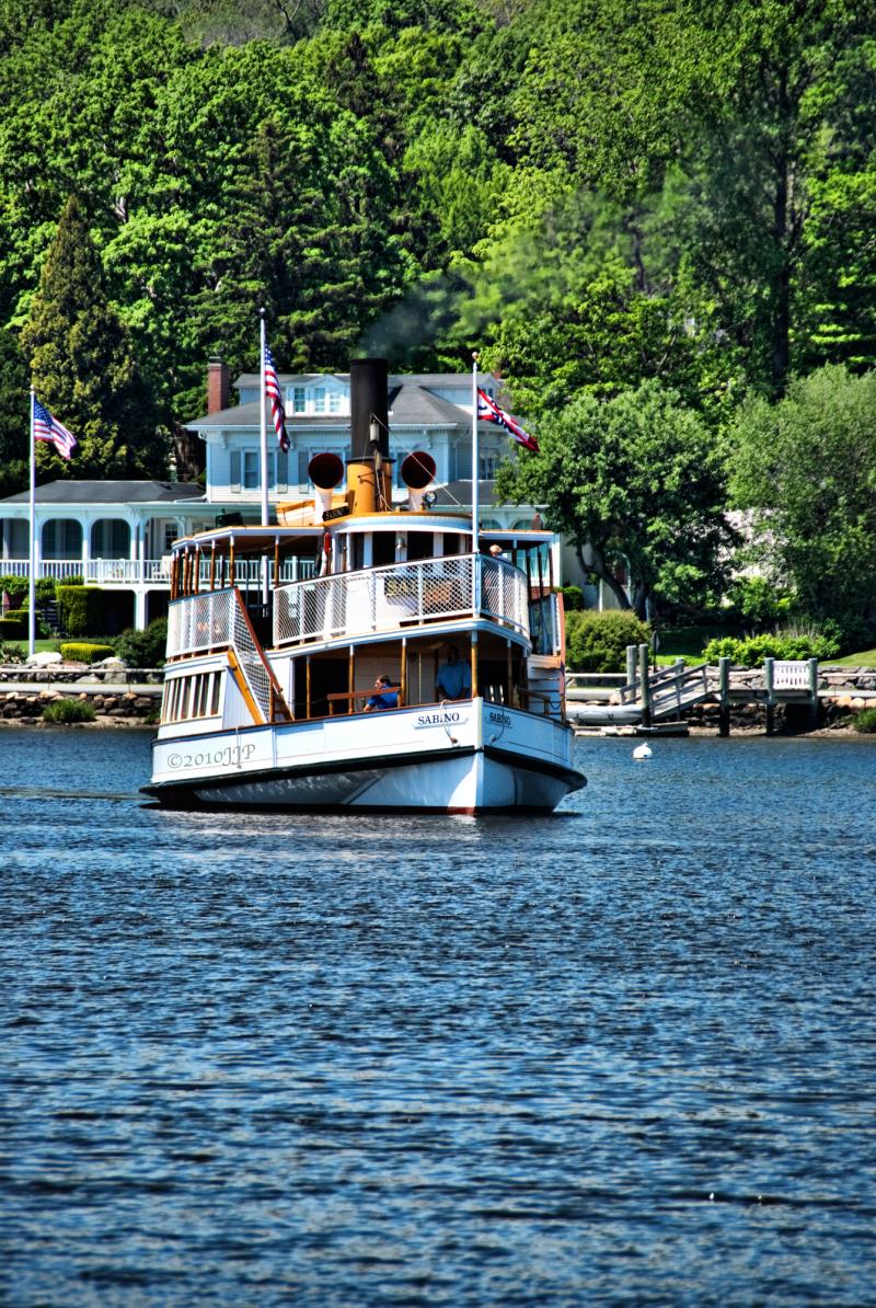 Sabino Boat at Mystic Seaport Museum