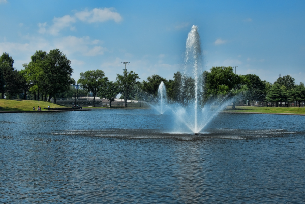 Fountains in Lincoln Park