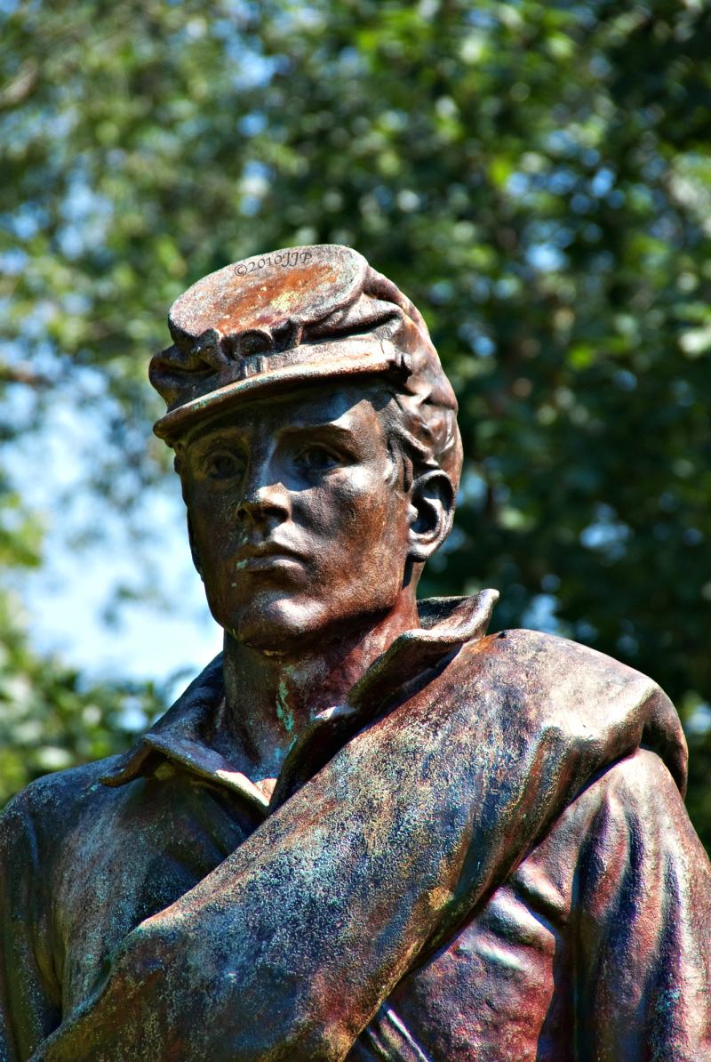 War of rebellion Memorial statue