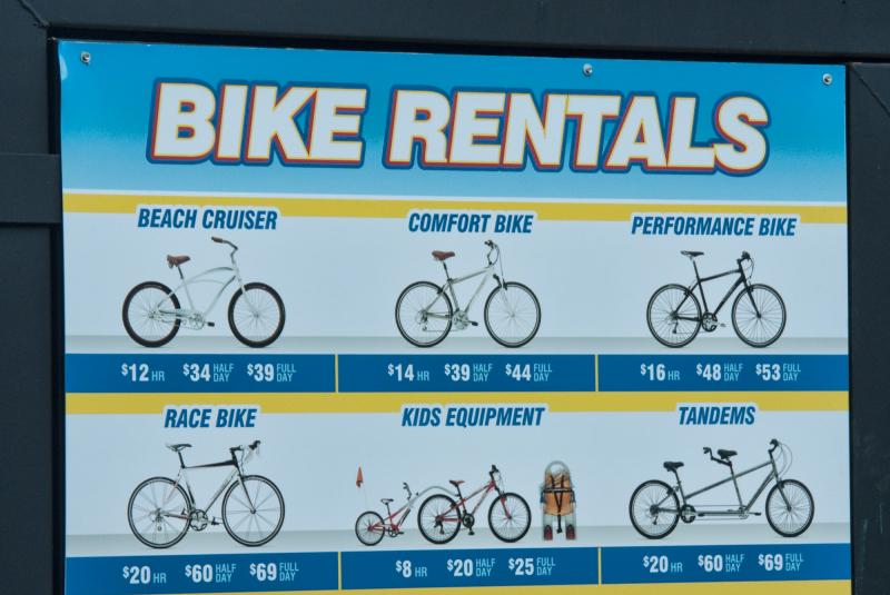 St Bike rentals