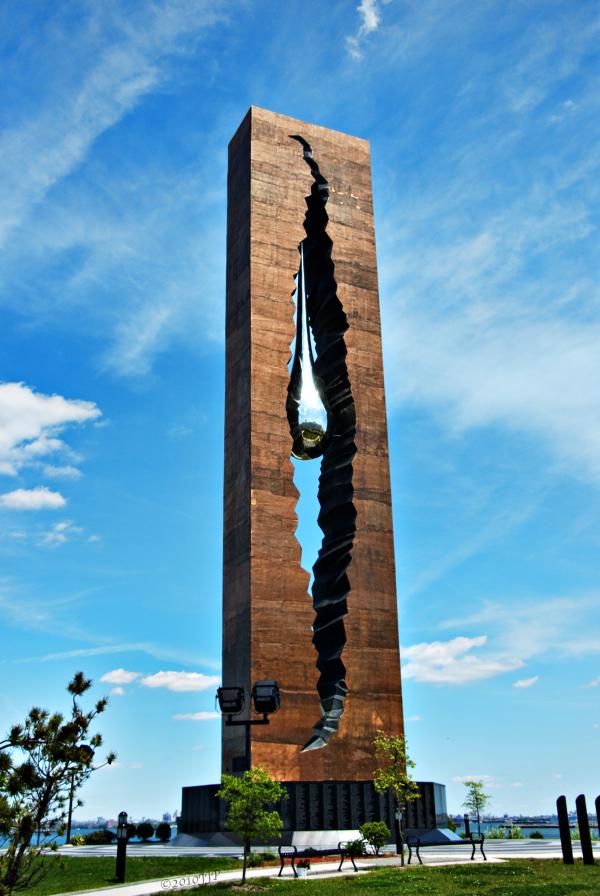 Teardrop memorial