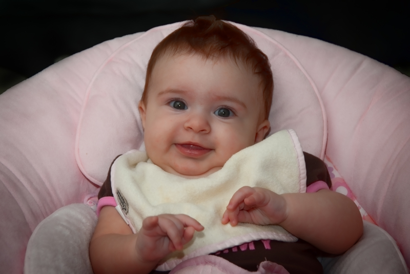 Smiling Baby Zoey