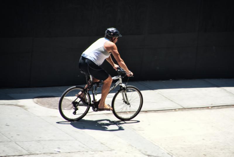 Cycling around Manhattan