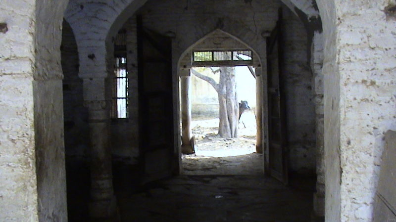 Inside view of the zaildars' house