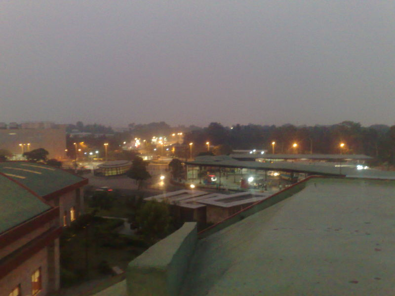 View of delhi in evening hours
