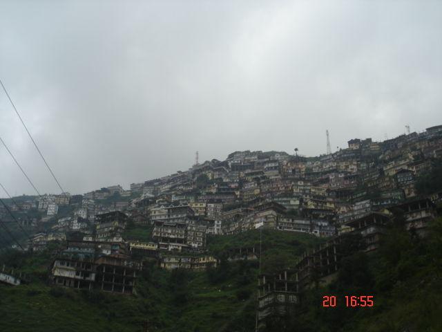 View of shimla