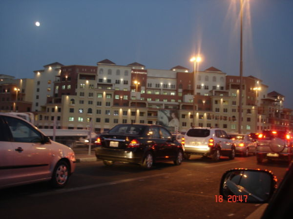 View of a building in deira,dubai