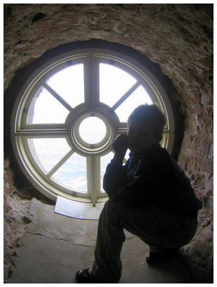 A window of the lighthouse and me