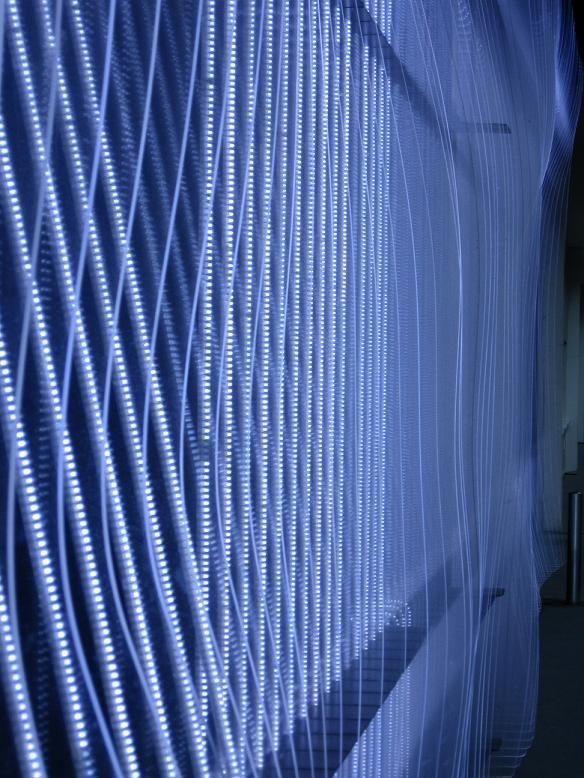 façade illuminée du CCC de Tours